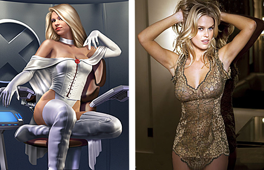 Emma Frost & Alice Eve