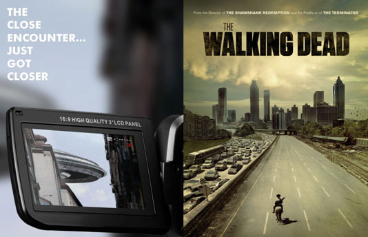 "Плакати на ""The Walking Dead"" и ""Extraterrestre"""