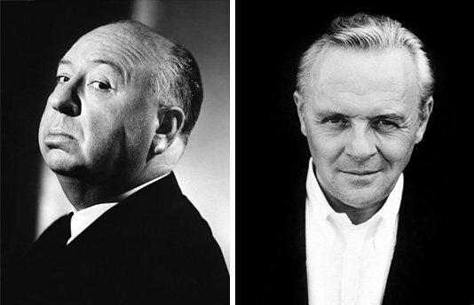 Anthony Hopkins & Alfred Hitchcock
