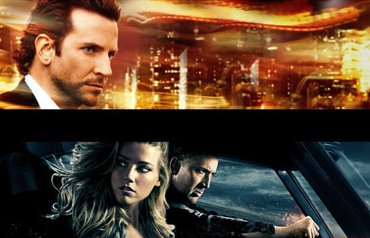 """Limitless"" и ""Drive Angry"""
