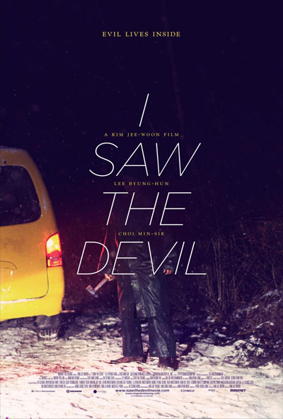 """I Saw the Devil"" - плакат"