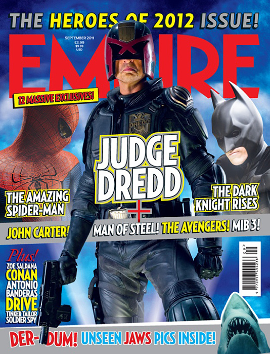 Empire - The Heroes of 2012 Issue
