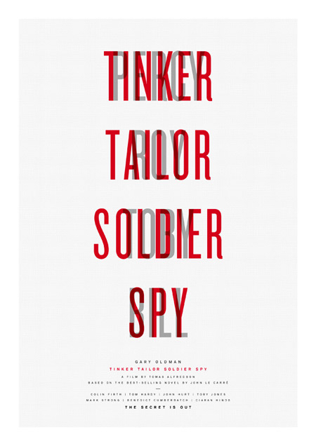 Tinker, Tailor, Soldier, Spy - плакат