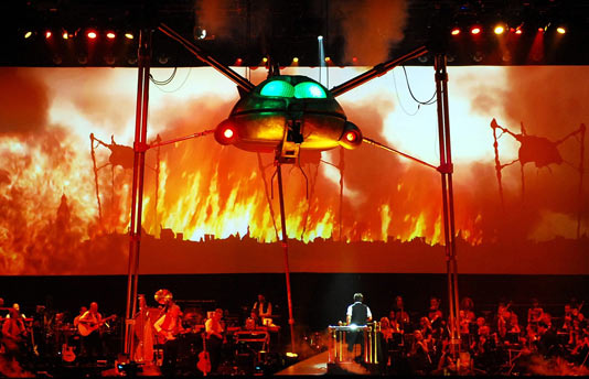 eff Wayne's Musical Version of The War of The Worlds