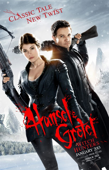 Hansel & Gretel: Witch Hunters - плакат