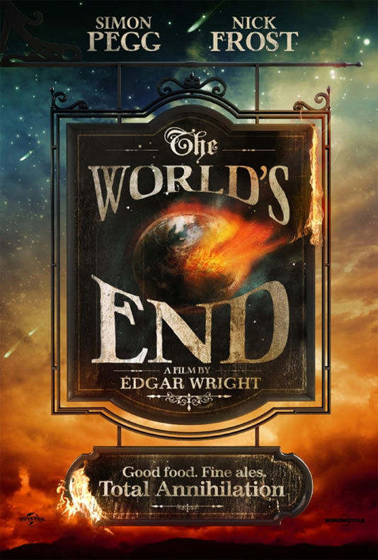 The Worlds End - плакат
