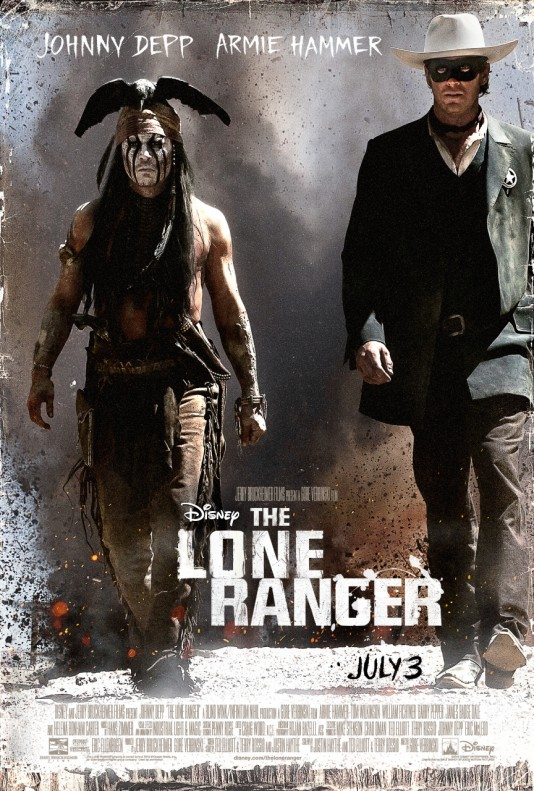 The Lone Ranger - плакат
