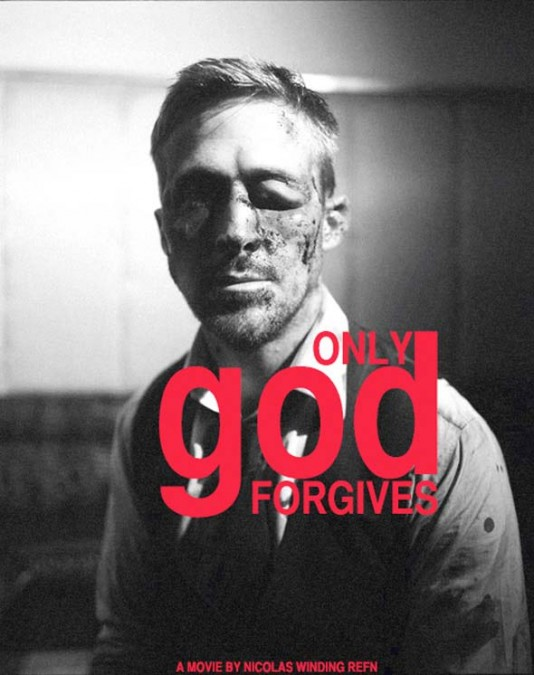 """Only God Forgives"" на Рефн - плакат"