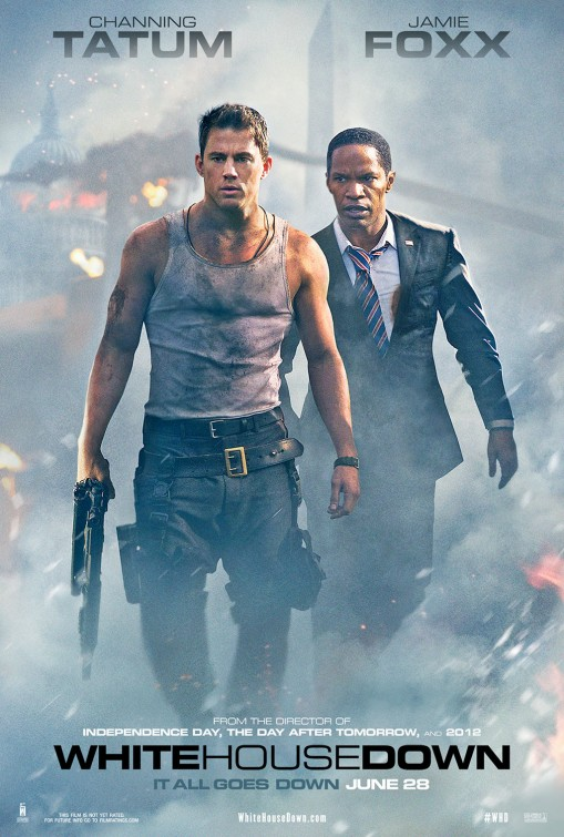 White House Down - плакат
