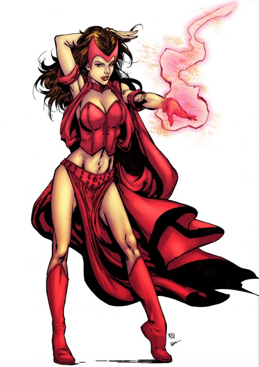 на Scarlet Witch