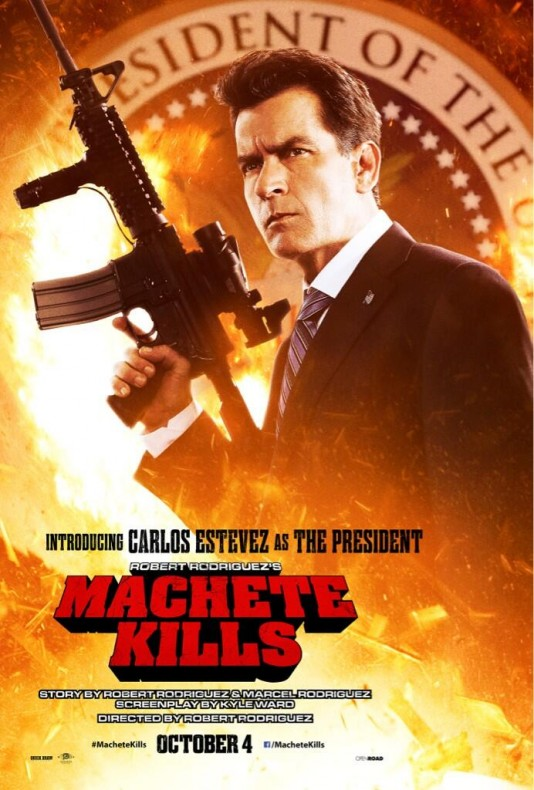 Machete Kills - Чарли Шийн