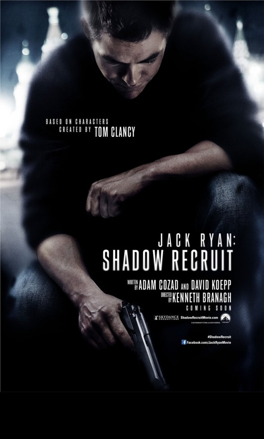 Jack Ryan: Shadow Recruit - плакат