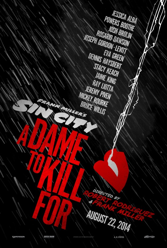 Sin City: A Dame To Kill For - плакат