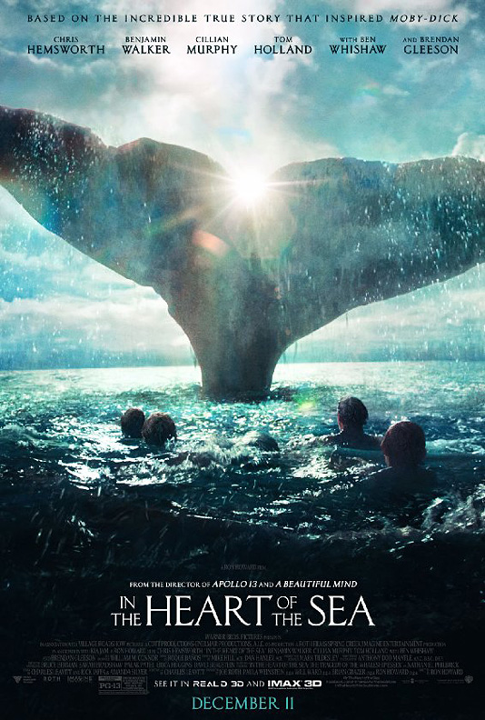 """""""In the Heart of the Sea"""" - плакат"""