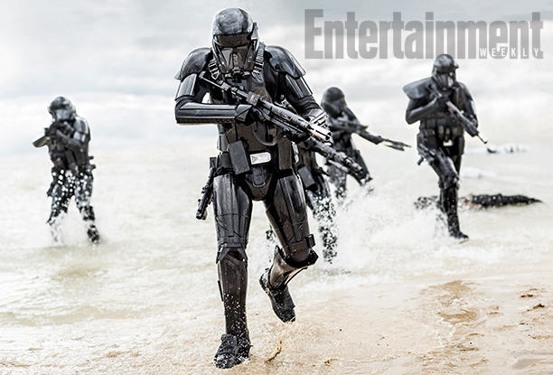 The Deathtroopers approaching