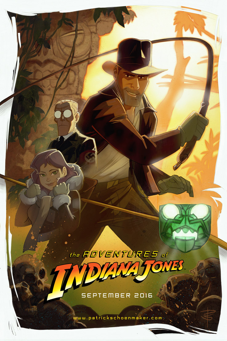 indiana-jones-animated-adventures-poster