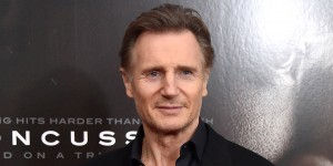 """NEW YORK, NY - DECEMBER 16:  Actor Liam Neeson attends the """"Concussion"""" New York Premiere at AMC Loews Lincoln Square on December 16, 2015 in New York City.  (Photo by Mike Coppola/Getty Images)"""