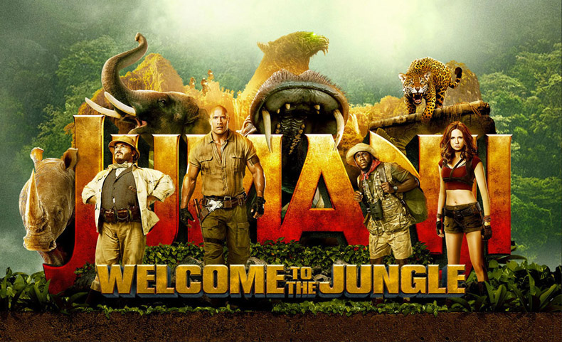 Jumanji-Welcome Movie-Trailer-2017
