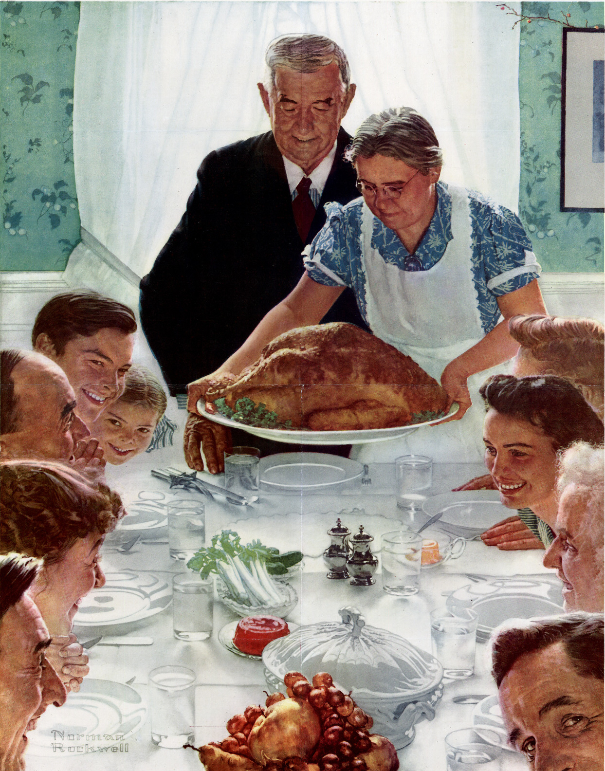 paintings-family-food-tables-thanksgiving-norman-rockwell-turkey-bird-_472406-32