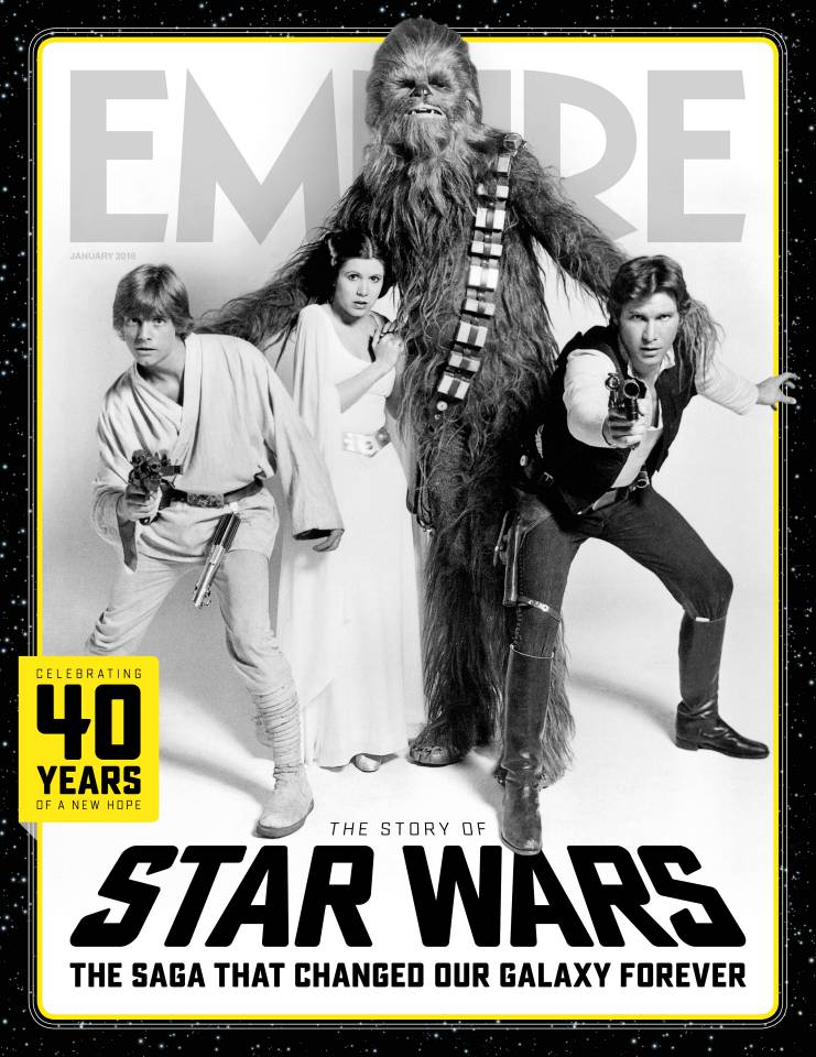 Empire magazine Star Wars supplement cover