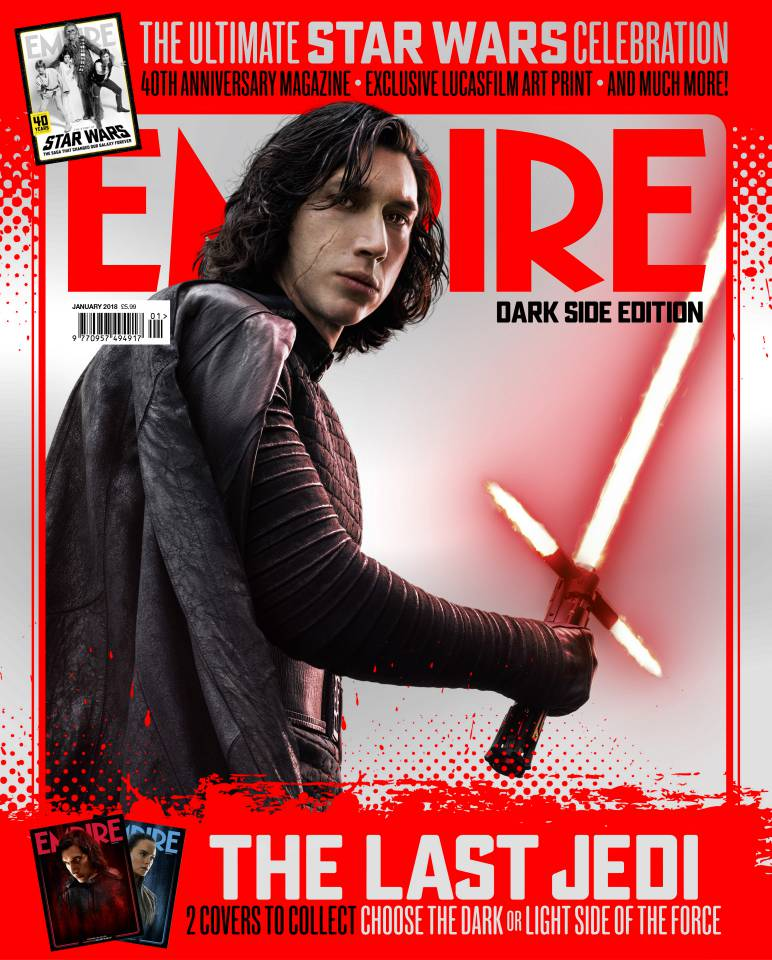kylo ren empire dark side cover the last jedi