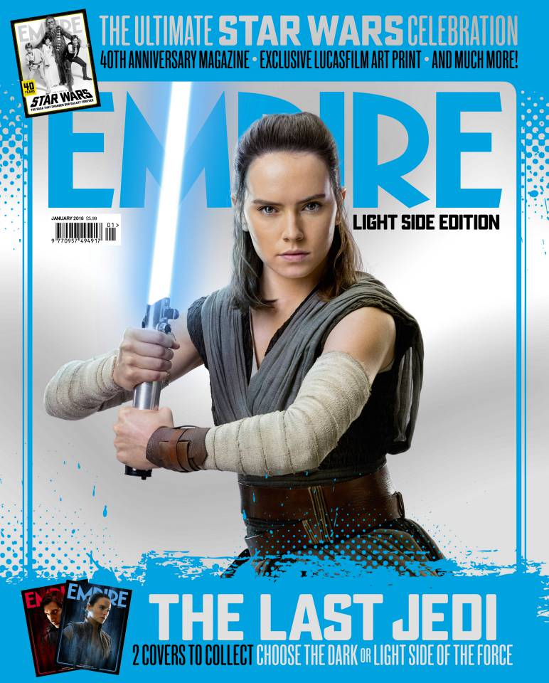 rey empire light side cover the last jedi