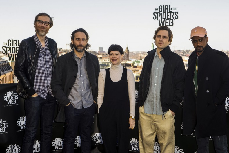 The Girl In The Spider's Web - Stockholm Photocall