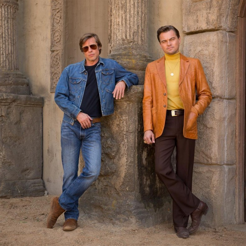 леонардо дикаприо и брад пит в once upon a time in hollywood