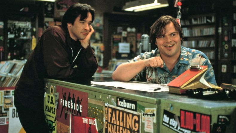 джон кюсак и джак блек - high fidelity 2000