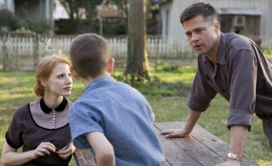 No Merchandising. Editorial Use Only. No Book Cover Usage. Mandatory Credit: Photo by Cottonwood/Kobal/REX/Shutterstock (5885252q) Jessica Chastain, Brad Pitt The Tree Of Life - 2011 Director: Terrence Malick Cottonwood Pictures USA Scene Still