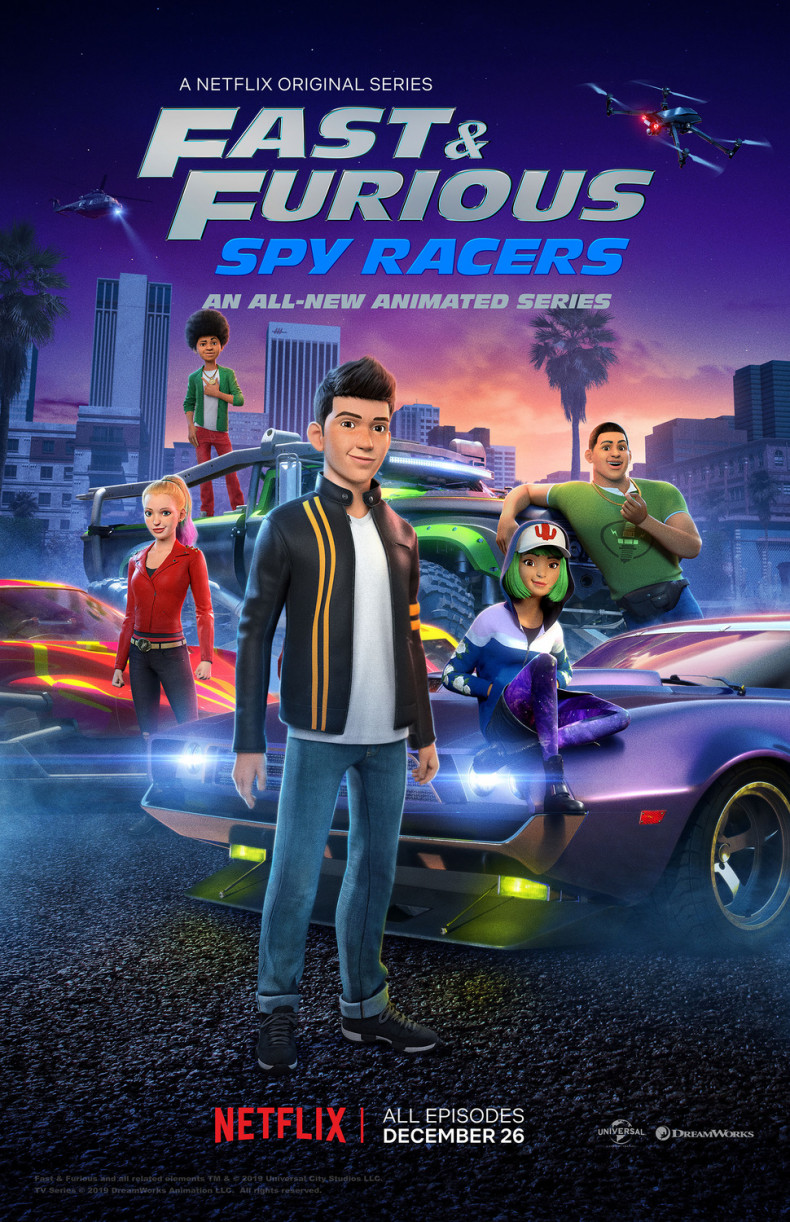 Fast & Furious Spy Racers • Poster