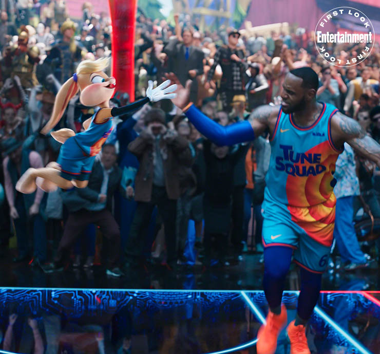 SPACE JAM: A NEW LEGACY Lola Bunny and LeBron James