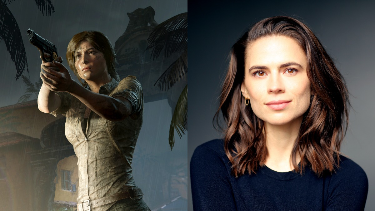 Hayley-Atwell-cast-as-Lara-Croft-in-Tomb-Raider-anime-series-image-of-Lara-Croft-from-the-games-and-Atwell